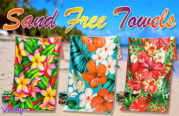Sand Free Towels | Cushy