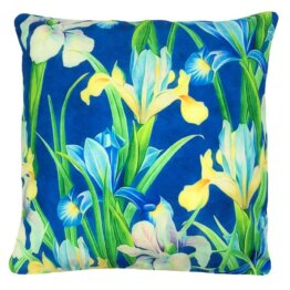 iris designer outdoor cushion cover