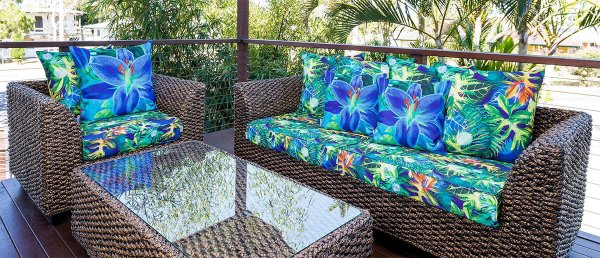 cushy outdoor cushions for patio furniture