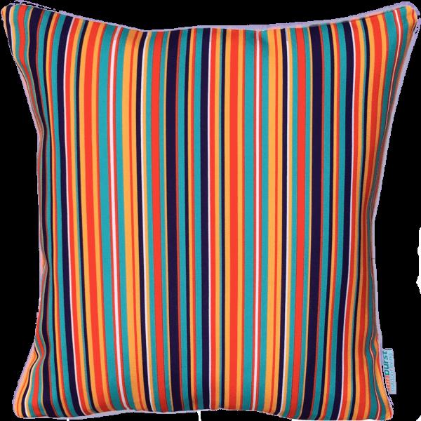 Esteem Cushion Cover | blue striped cushion covers