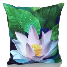 Lotus Cushion Cover