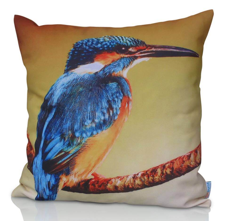 Kingfisher Cushion Cover