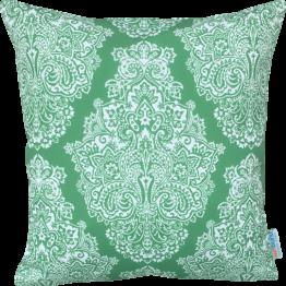 green designer cushion cover
