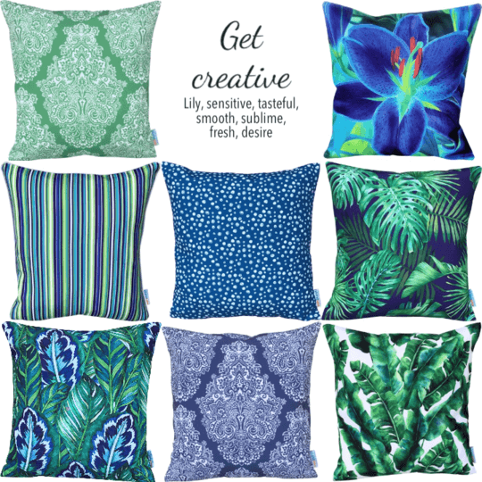designer cushion mix