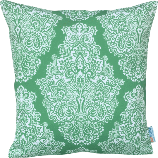 green designer cushion cover