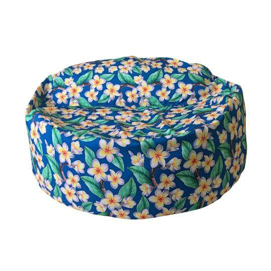 Amazing frangipani designer outdoor twin beanbag cover