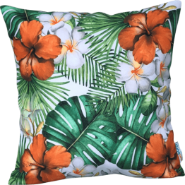 hibiscus tropical orange designer cover