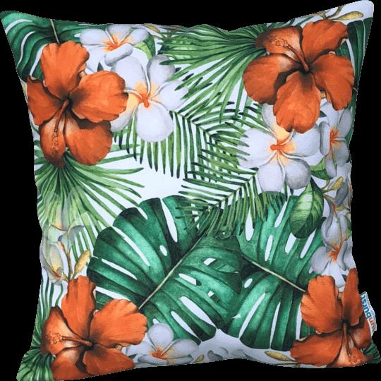 hibiscus tropical orange designer cover