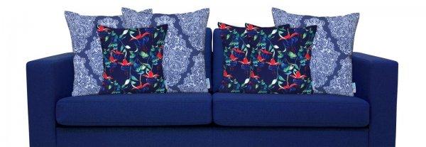 fuchsia designer outdoor cushion cover mix