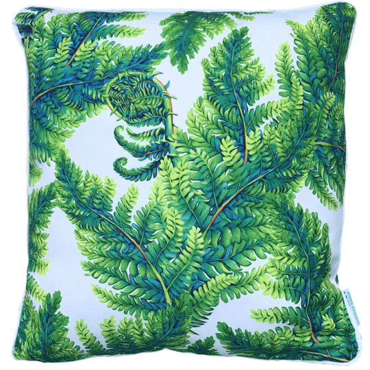 Fern outdoor cushion cover