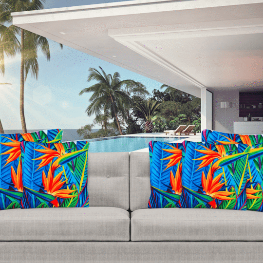 Paradise cushions