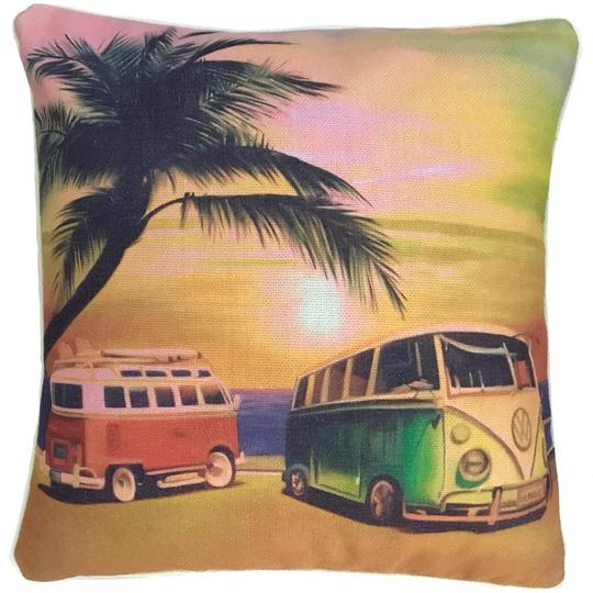Sunset combi cushion cover