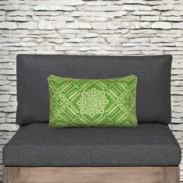 Divine outdoor/indoor breakfast cushion cover mix