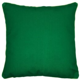 Endorse plain dark green outdoor cushion cover