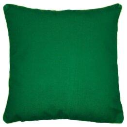 Endorse plain dark green outdoor cushion cover