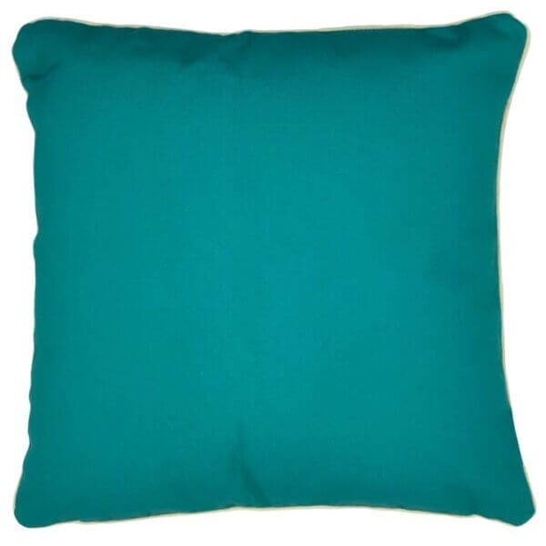Energy teal outdoor cushion cover