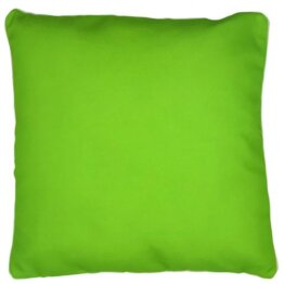 Engage light green outdoor cushion cover