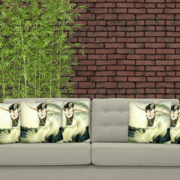 hula indoor cushion cover