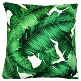 Lismore designer tropical leaf indoor cushion cover