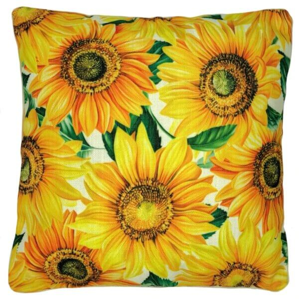 sunflowers outdoor cushion cover