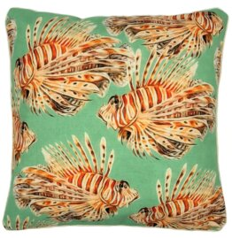 lionfish outdoor cushion cover