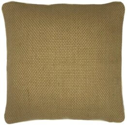 sparkle natural jute cushion