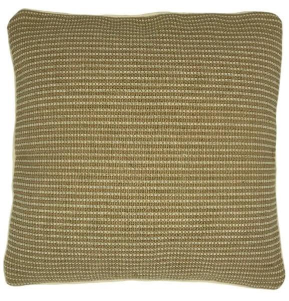 elegant natural jute cushion