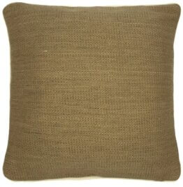 bless natural jute cushion cover