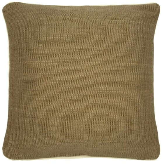 bless natural jute cushion cover