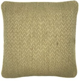 intuitive natural jute cushion cover
