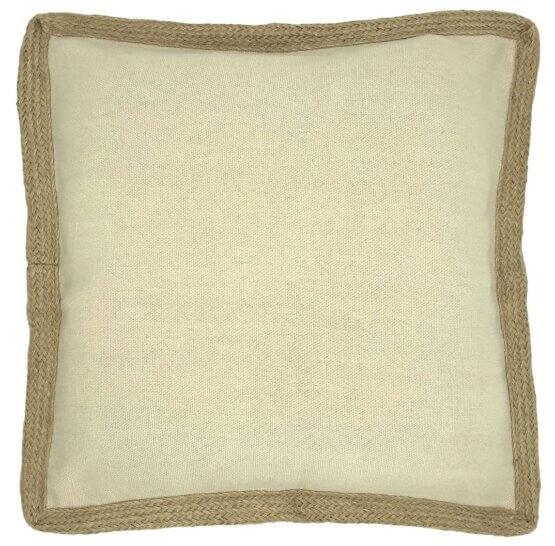 wanting jute cotton blend cushion